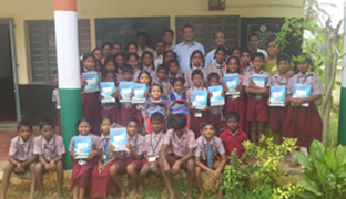Books & Bags Distribution for Government Schools Children